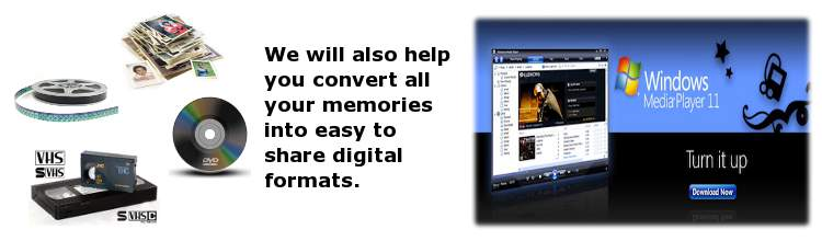 Convert all physical image media to digital and deliver it to the cloud